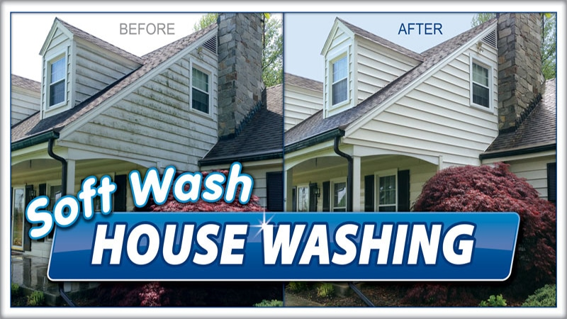 House Washing Blue Mountain Pressure